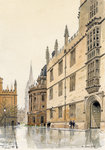 PRINTS | The progression of the Bodleian Library, Radcliffe Camera to  St Mary's Church