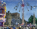 PRINTS | St Giles Fair, September 2018, looking towards Balliol College and the Martyrs' Memorial